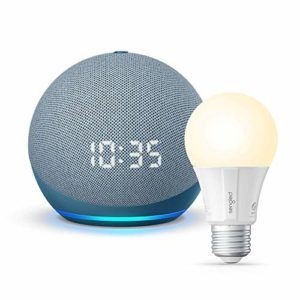 Allnew Echo Dot 4th Gen with clock Twilight
