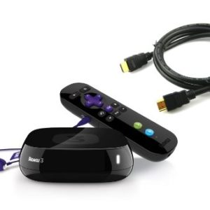 ArtMuseKitsMikash Roku 3 Streaming Media Player Bundle