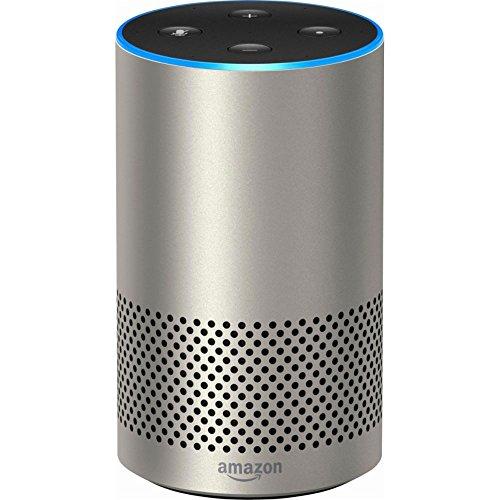 Echo 2nd Generation Smart speaker with Alexa Silver