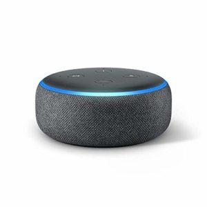 Echo Dot 3rd Gen Smart speaker with Charcoal