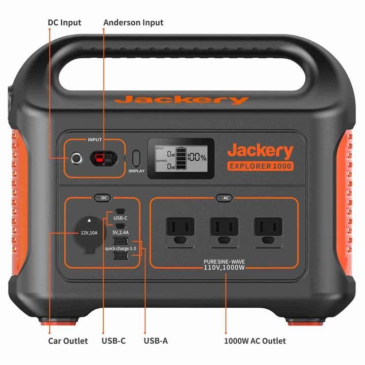 Jackery Explorer 1000 Portable Power Station