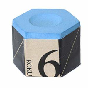 Kamui Roku Pool cue Billiard Chalk Blue