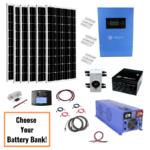 1200 Watt Solar 6000 Watt Inverter/Charger 24VDC