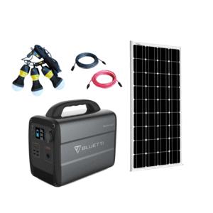 Bluetti AC100 ONE Panel Solar Generator Kit