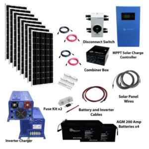Complete Off Grid Solar Kit