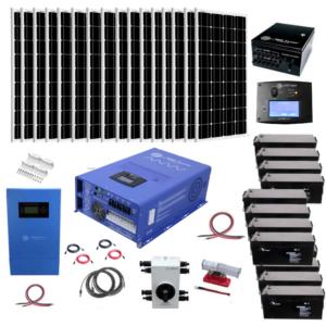 Complete Off-Grid Solar Kit 3200 Watt Solar