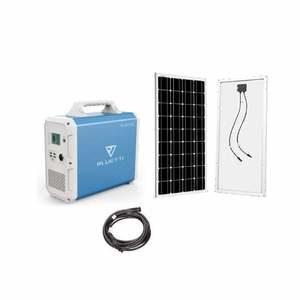 Bluetti EB150 Solar Generator SINGLE Kit