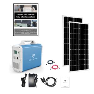 Bluetti EB240 Solar Generator Double Kit 2400Wh Generator