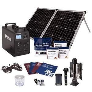 Patriot Power Generator 1800 | 4Patriots 652wH Solar Generator