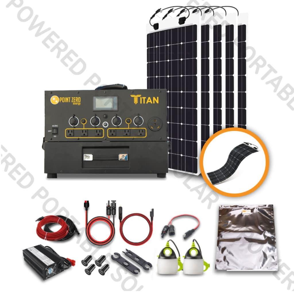 Titan 500 Flexx Kit