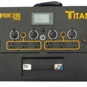 Titan Solar Generator 15 Watt Solar Panels Complete Kit