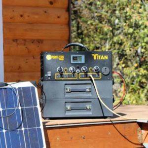 Titan Solar Generator Complete Solar Power Kit