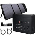 200W Solar Generator 146Wh Portable Power Station