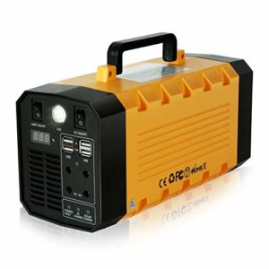 288Wh Portable Power Station 75000mAh Outdoor Solar