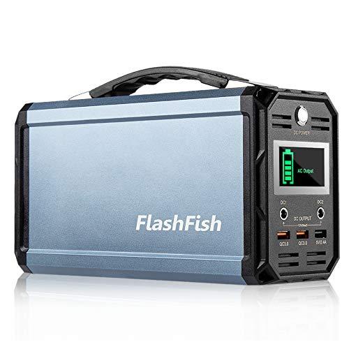 300W Solar Generator FlashFish 60000mAh Portable Power