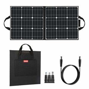 50W 18V Portable Solar Panel Flashfish Foldable
