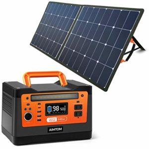 AIMTOM PowerPal Raptor 540Wh Portable Solar Generator