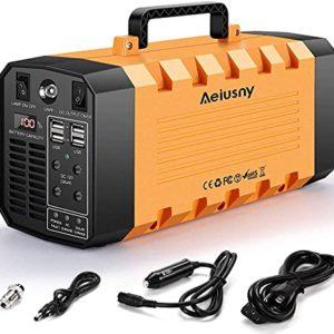 Aeiusny Portable Solar Generator 500W 288WH UPS