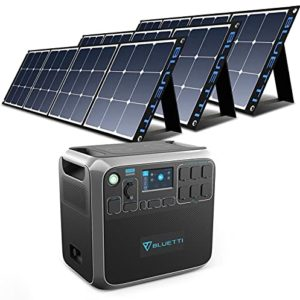 BLUETTI AC200P Portable Power Station with Solar