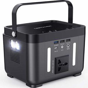 DBPOWER Portable Power Station 178Wh/250W Solar Generator