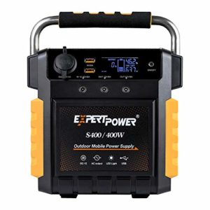 ExpertPower S400 Lithium Portable Power Station 386Wh Solar