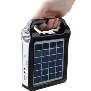 JAY-LONG Portable Solar Generator USB Charger 6V