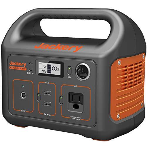 Jackery Portable Power Station Explorer 240 240Wh
