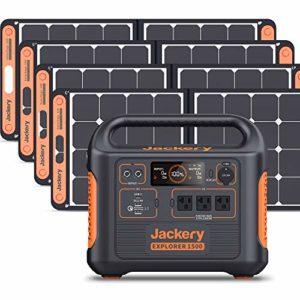Jackery Solar Generator 1500 1800W Generator Explorer