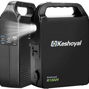 Keshoyal 78000mAh Portable Power Station 288Wh Backup