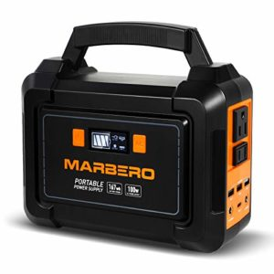MARBERO 167Wh Portable Power Station 45000mAh Solar