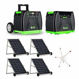 Nature's Generator Elite Portable Solar and Wind