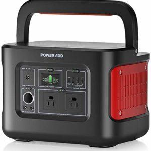 POWERADD 280Wh/78000mAh Portable Power Station 110V/400W AC