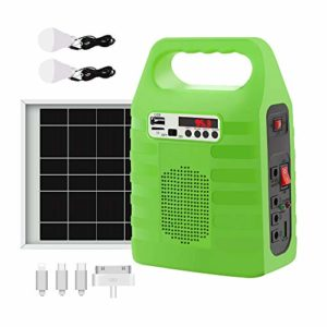 Pabho Solar Generator portable power station with