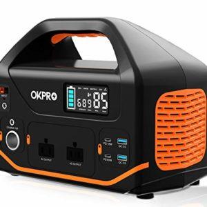 Portable Power Station OKPRO 555Wh/150 000mAh Solar Generator