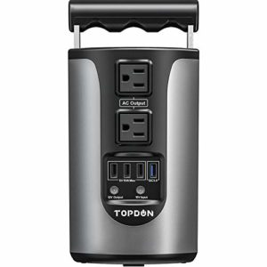 Portable Power Station Solar Generator TOPDON HURRICANO200