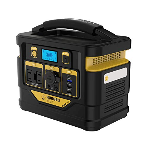 Rugged Geek Rover 300 Portable Power Station