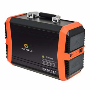 SUNGZU Portable Generator Power Station 300W Solar