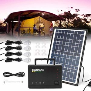 TUQI Portable Solar Generator with Solar Panel Included