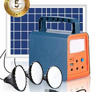 Teioe Solar Generator 84Wh Portable Power Station