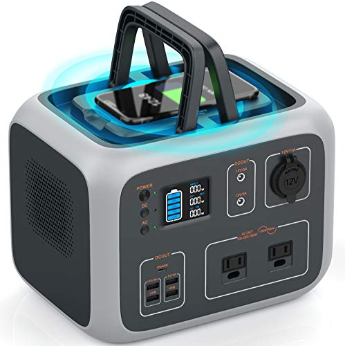WattFun Portable Power Station 500Wh with Regulated